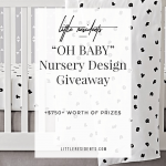 Nursery Design Giveaway | Interior Design