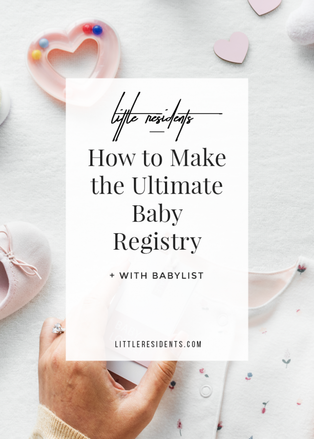 Ultimate Baby Registry | Babylist Review