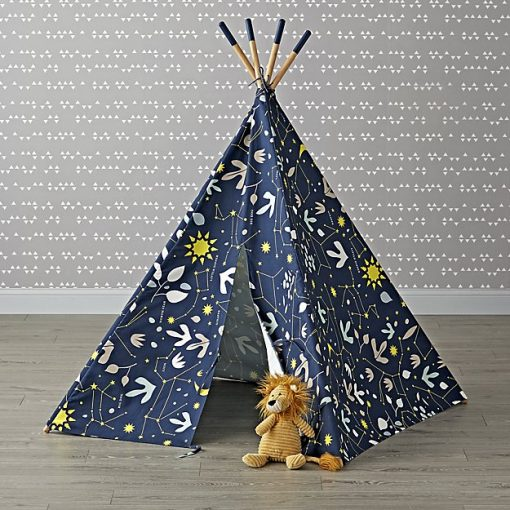 Stars and Constellations Teepee | Interior Design Trend - Little Residents