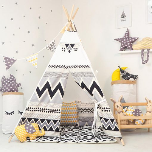 Scandinavian Kids Teepee | Interior Design Trend - Little Residents